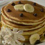 Bananen-Dinkel-Pfannkuchen im Blendtec Mixer