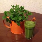 GrünePerlen-Smoothie